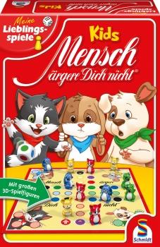 Mensch ärgere Dich nicht®, Kids (mit 3D-Spielfiguren) - SCHMIDT SPIELE®