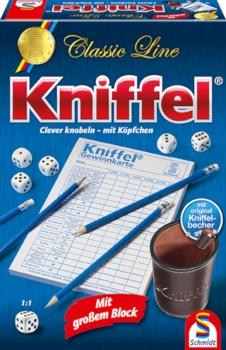 Kniffel® mit großem Spielblock und extragroßen Würfeln - SCHMIDT SPIELE®