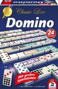 Domino - Classic Line - Mit großen Spielsteinen - SCHMIDT SPIELE®