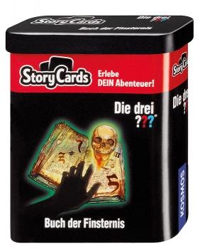 StoryCards - Die drei ??? Buch der Finsternis