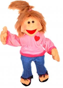 Paula - Menschenhandpuppe 65cm