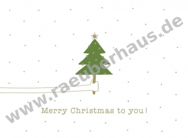 Merry Christmas to you! , Postkarte